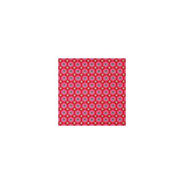 Tissu mikko rouge