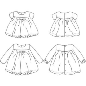 blouse ou robe Oslo de Ikatee