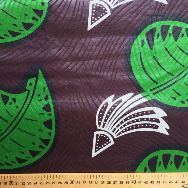 Tissu feuille et banane
