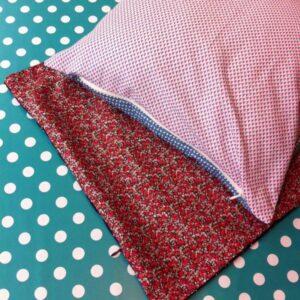 Atelier couture: coussin zippé
