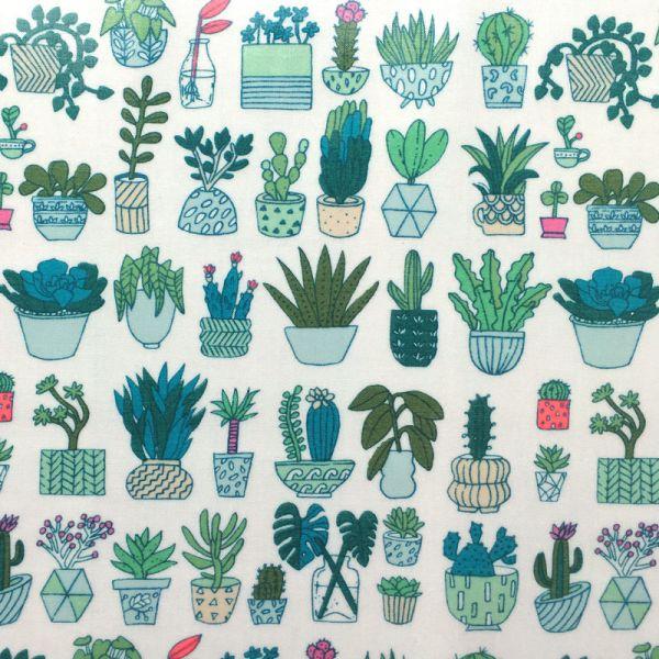 Tissu enduit cactus