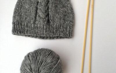 Tuto gratuit : Le bonnet Kawaii en laine Bisous par Bavardages