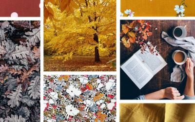 Nouvelle collection de tissus : vent d'automne