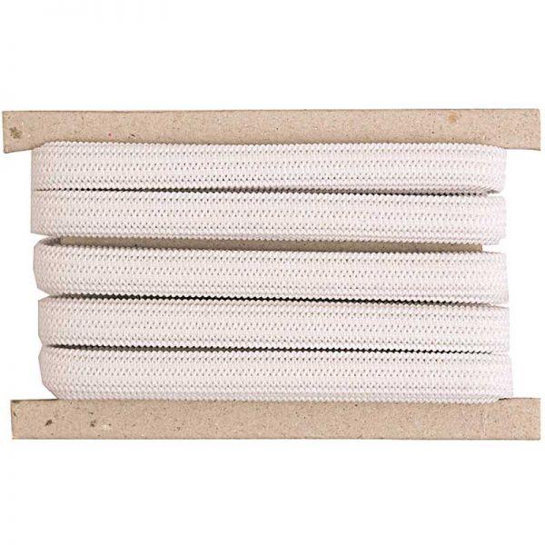 élastique blanc 5mm