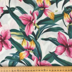 Tissu Imprimé Aloha