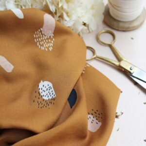 Tissu Moonstone Ocre - Atelier Brunette