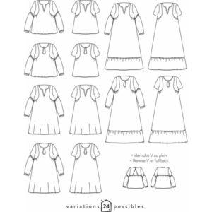 Blouse ou Robe Petites Choses - Atelier Scammit