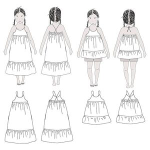Blouse et robe Léna - Ikatee - 3 - 12 ans