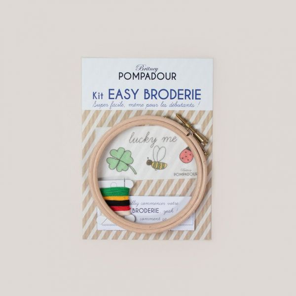 Kit broderie Coccinelle Lucky