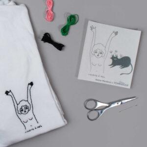 Extra - Kit Easy Broderie Nenette et Chat