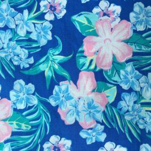 Tissu fleur floue