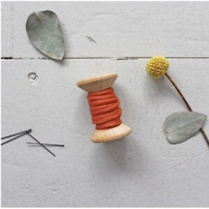 Passepoil crêpe chestnut Atelier Brunette