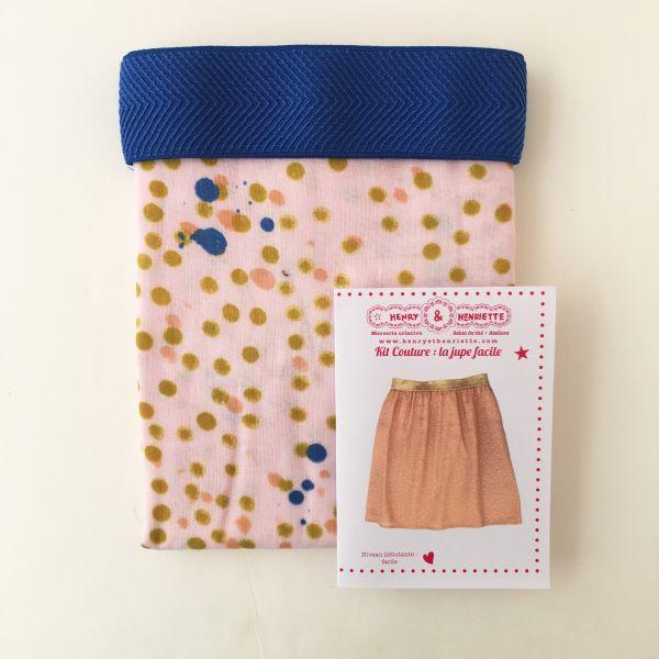 Kit jupe courte et joli élastique