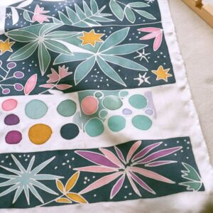 Peinture sur soie | 05/10 | Atelier DIY