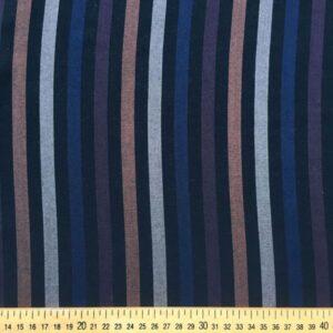 Tissu black stripe
