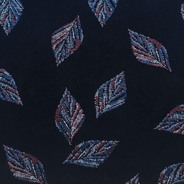 Tissu feuille ou plume