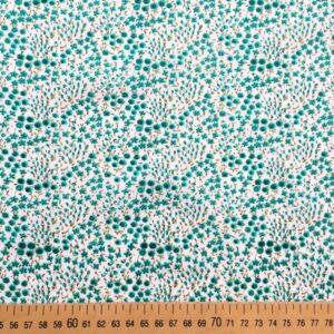 Tissu pin vert