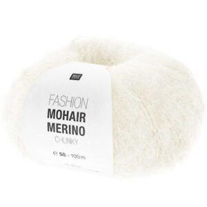 Mohair Merino crème