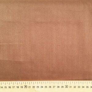 Tissu plumetis châtaigne en viscose