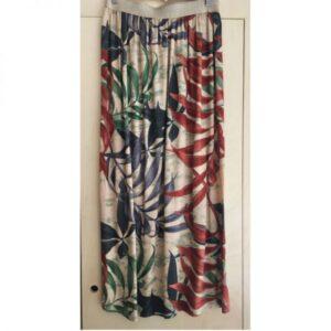 Kit jupe longue rêve de jungle et élastique argenté
