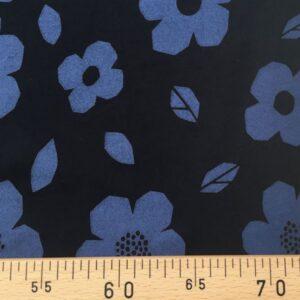Tissu blue flower