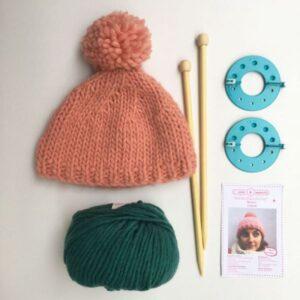 Kit tricot : le bonnet