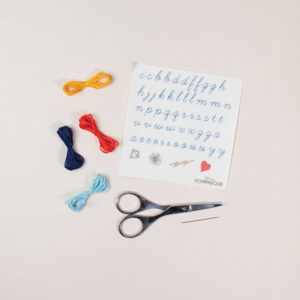 Kit easy Broderie Alphabet