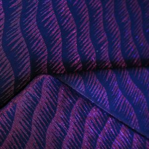 Jacquard vague ultra violet