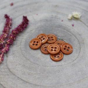 Bouton Bliss Chestnut 11 mm Atelier Brunette