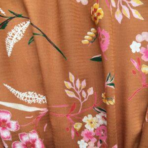 Tissu jolies fleurs