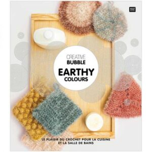 Livre creative bubble earthy colours