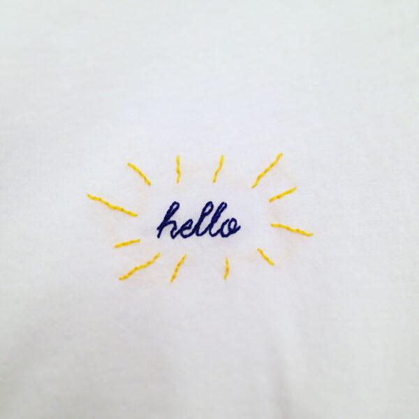 Kit easy Broderie Hello
