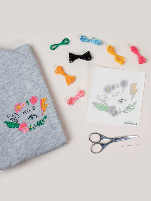Extra - easy Kit Broderie rock it !