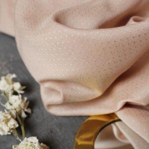 Tissu Dobby off white - Atelier Brunette