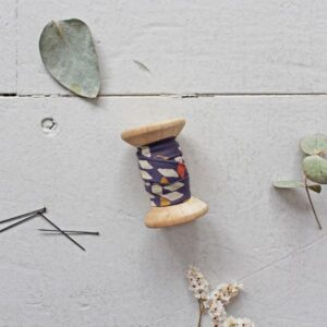 Biais Twist mustard - Atelier Brunette