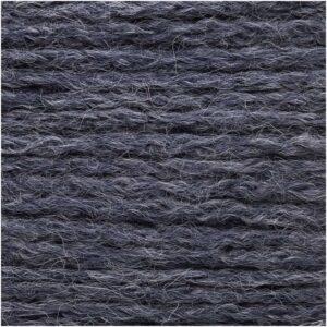 Alpaca superfine bleu gris