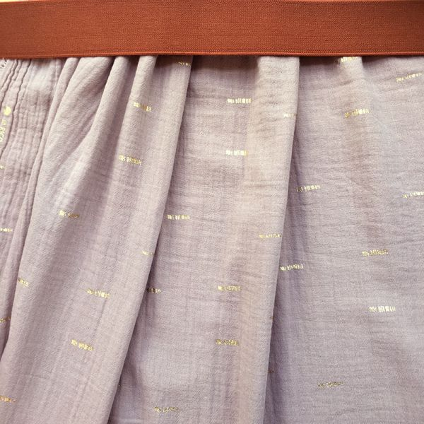 Kit jupe longue mint élastique canard