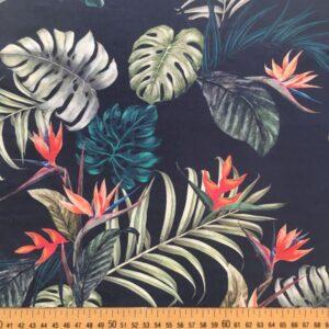 Tissu oiseau de paradis