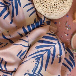 Tissu Canopy Cobalt - Atelier Brunette