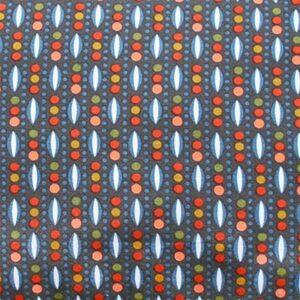 Tissu Mulino bleu