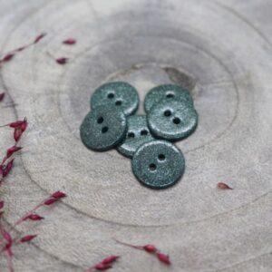 Bouton Glitter chestnut 15mm Atelier Brunette