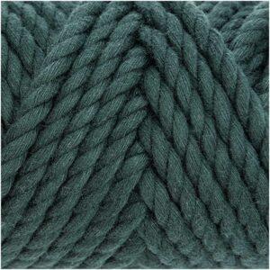 Pelote cotton cord vert petrole