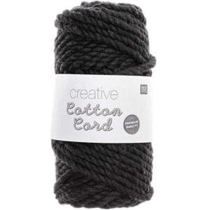 Pelote cotton cord noir