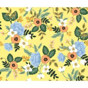 Tissu yellow flower