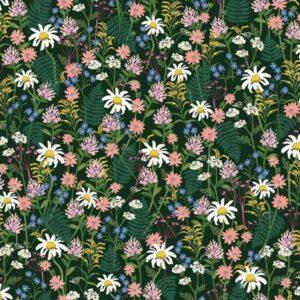 Tissu fleurs sauvages