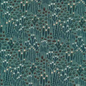 Tissu forêt de cactus