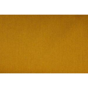 Tissu lin moutarde
