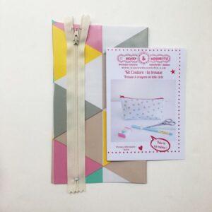 Kit couture : la trousse à crayons