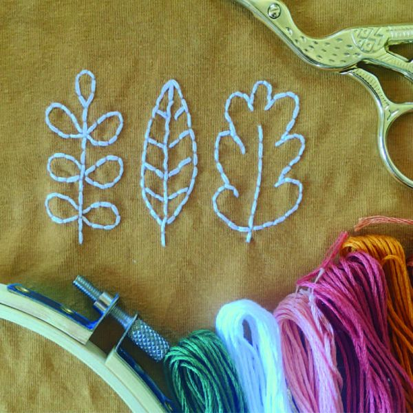Initiation broderie | 24/03 | Atelier broderie