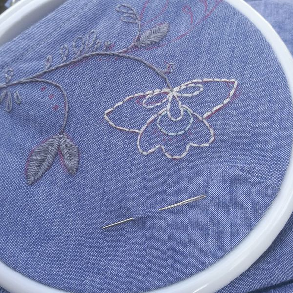 Initiation broderie | 08/07 | Atelier broderie